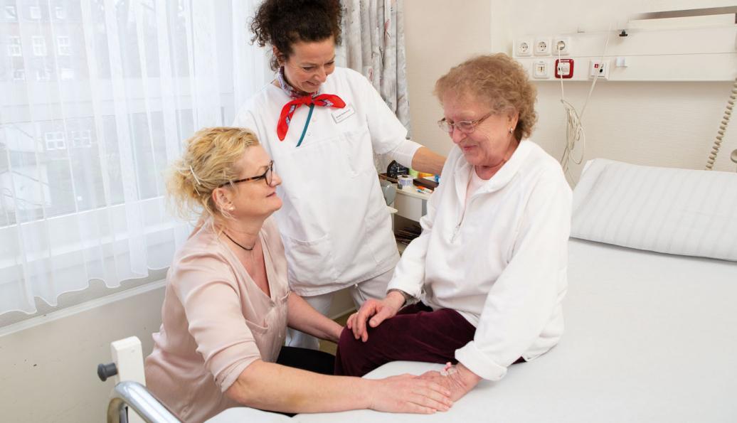 Familiale Pflege Anleitung Pflegender Angehoriger Krankenhaus